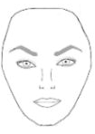 eyebrows for diamond face shape