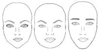 eyebrows for face shapes