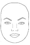 eyebrows for round face shape