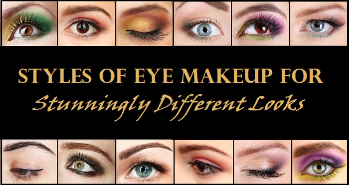 Different eye makeup techniques